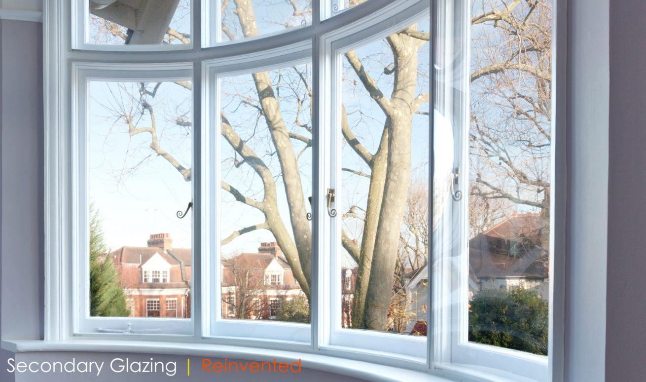 WindowSkins Secondary Glazing Curved Casement Windows