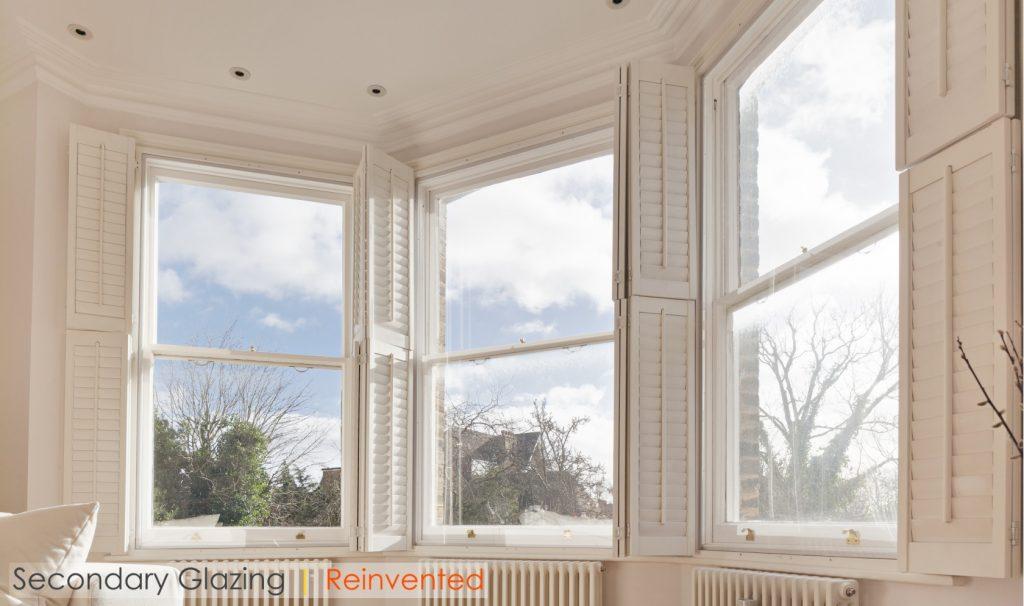 WindowSkins Secondary Glazing Shutters Sash Windows