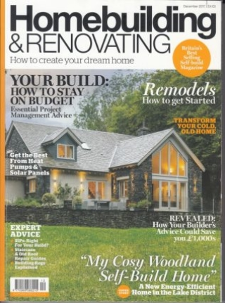 Home Building and Renovating Magazine Cover