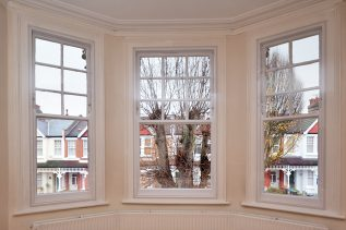sash windows with WindowSkins magnetic secondary glazing