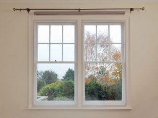 Window with WindowSkins - Magnetic Secondary Glazing Installed