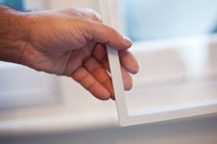 Hand holding WindowSkins