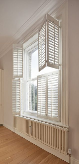 Windows with shutters and WindowSkins