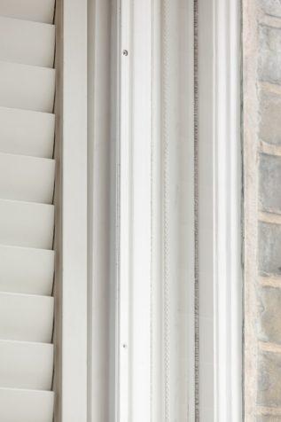 Closeup on shutters