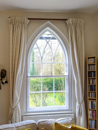 WindowSkin installed on Gothic Arched Sash Window