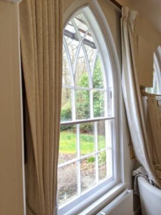 WindowSkin installed on Gothic Arched Sash Window