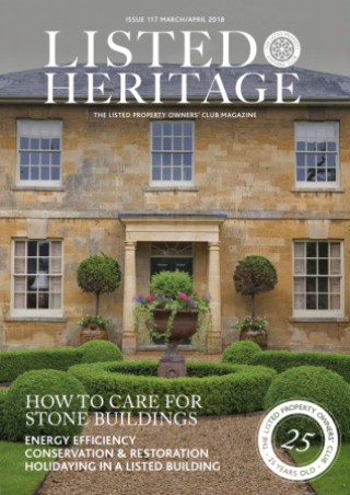 Listed Heritage Magazine Cover