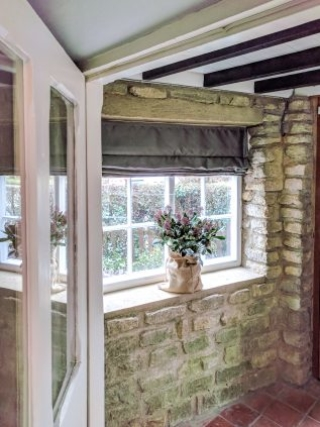 Cottage Porch Casement Windows with WindowSkins Secondary Glazing