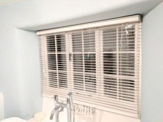 Bathroom Casement Windows with WindowSkins Secondary Glazing and Venetian Blinds