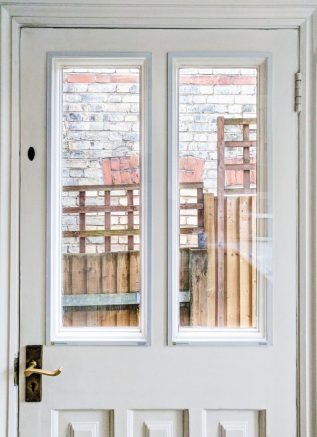 Garden Door with WindowSkins Secondary Glazing