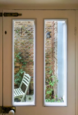 Garden Door with WindowSkins Secondary Glazing
