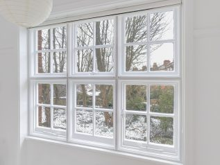 Traditional Casement WindowSkin installation