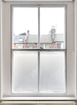 Split-Panel Sash WindowSkins Installation protecting against the cold winter weather