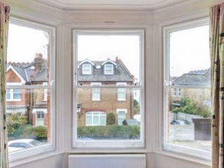 Bay Sash Windows with WindowSkins installed in Muswell Hill