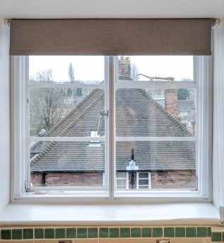Crittal WindowSkin Secondary Glazing with Bespoke Subframe and Split Panel Construct